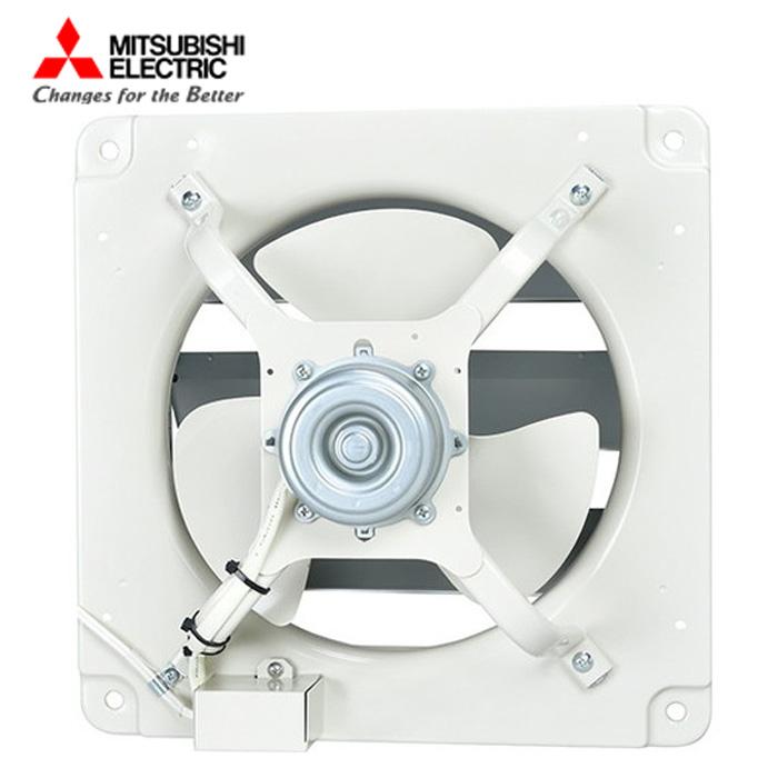 三菱 高静圧形工業用換気扇 E-50S4 シャッター付