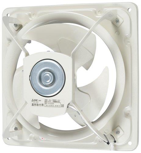 三菱 高静圧形工業用換気扇 EX-30A シャッターなし