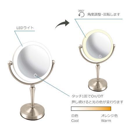 アイキャッチ EC005ZLXAC-5X 真実の鏡 Luxe 両面Z型