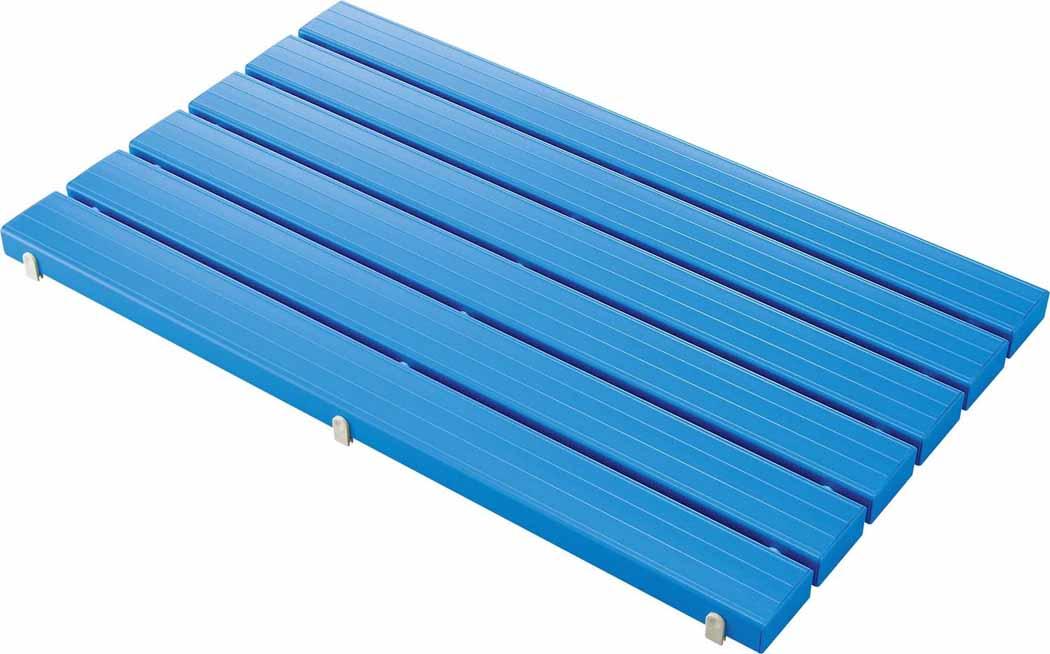 (キャッシュレス5%還元)山崎産業 コンドル YSカラースノコ・セフティ抗菌キャップ付き(L型)ブルー F-115-3-L-BL (代引き不可)