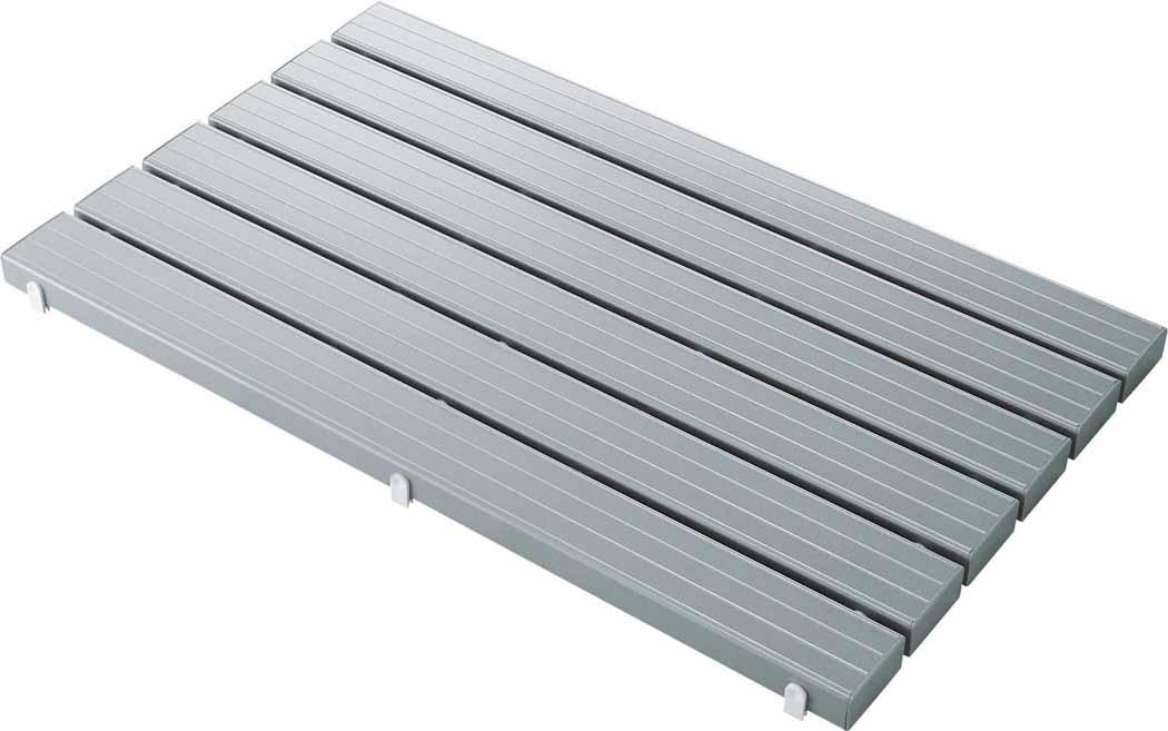 山崎産業 コンドル YSカラースノコ・セフティ抗菌キャップ付き(L型)グレー F-115-3-L-GR (代引き不可)