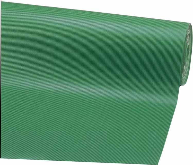 (キャッシュレス5%還元)山崎産業 コンドル ゴム筋入長マット 1.2mX20m 3mm厚 グリーン F-25-12-3-G (代引き不可)