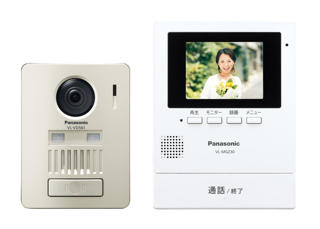 (送料無料)パナソニック VL-SGZ30 モニター壁掛け式ワイヤレステレビドアホン