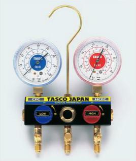 タスコ TASCO TA120K ボールバルブ式マニホールド