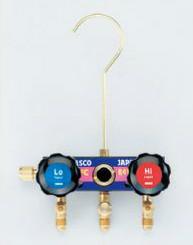 (キャッシュレス5%還元)タスコ TASCO TA122E-11 サイドグラス付マニホールドボディ