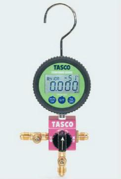 (キャッシュレス5%還元)タスコ TASCO TA123DZ R410A/R32デジタルシングルマニホールド
