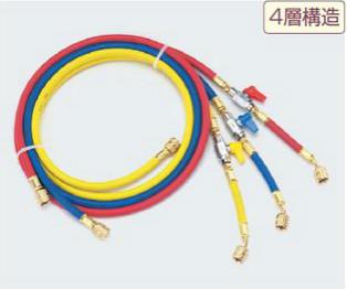 (キャッシュレス5%還元)タスコ TASCO TA132AA V付チャージホース(R410A)92cmセット