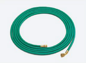 (キャッシュレス5%還元)タスコ TASCO TA136E 1/4ロングチャージホース(10m) 7/16-S=7/16-45