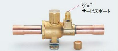 タスコ TASCO TA281HC-12 ボールバルブ(アクセスポート付)1-1/4ロウ付