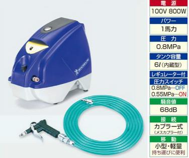 タスコ TASCO TA301DA Hiパフォーマンスコンプレッサー(オイルフリー)