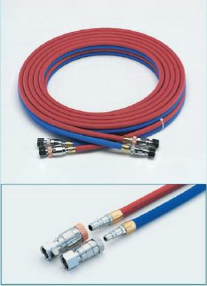 (キャッシュレス5%還元)タスコ TASCO TA381C-10A ツインホース(カプラ付)酸素・アセチレン Q-10M