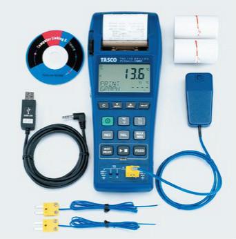 円高還元 TASCO (キャッシュレス5%還元)タスコ 2chデジタルレコード温度計:住設と電材の洛電マート TA410EA-DIY・工具