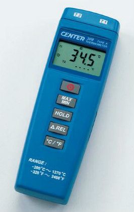 タスコ TASCO TA410WD 2chデジタル温度計