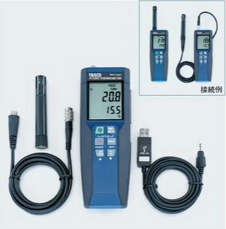 タスコ TASCO TA411PC データロガー温湿度計