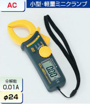 (キャッシュレス5%還元)タスコ TASCO TA451SC デジタルミニクランプテスタ
