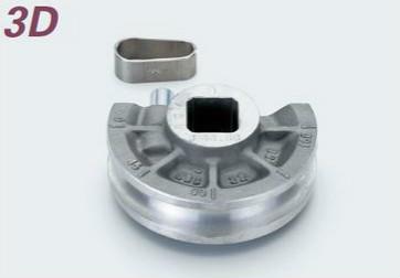 (キャッシュレス5%還元)タスコ TASCO TA515-13J ベンダー用シュー1'5/8(3D)