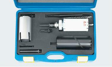 (キャッシュレス5%還元)タスコ TASCO TA674CM-70 エアコン工事用コアドリル70φセット