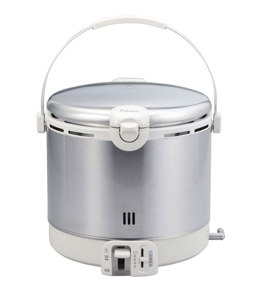 (キャッシュレス5%還元)パロマ PR-18EF ガス炊飯器 ステンレスタイプ 都市ガス用