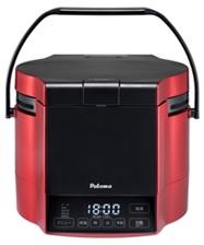 (最大450円OFFクーポン有)(送料無料)パロマ PR-M09TR プロパンガス用 マイコン電子ジャー付 ガス炊飯器 炊きわざ 0.9L 5.0合 プレミアムレッド×ブラック