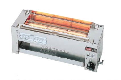 (送料無料)リンナイ RGK-61D 都市ガス用 ガス赤外線グリラー(下火式) 串焼61号