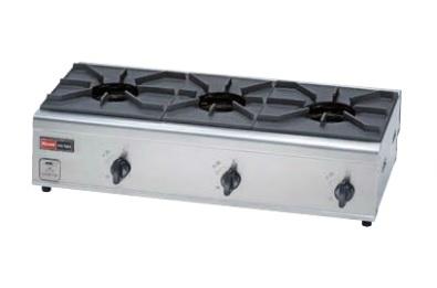 (送料無料)リンナイ RSB-306N 都市ガス用 ガスコンロ 内炎バーナータイプ 立消え安全装置付 3口コンロ