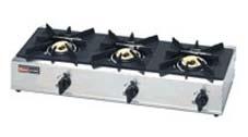 (送料無料)リンナイ RSB-306SV プロパンガス用 立消え安全装置付 ガスコンロ スタンダードタイプ 3口コンロ