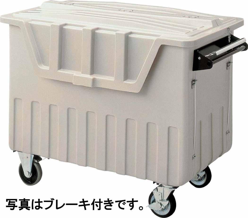 山崎産業 コンドル ダストカート #500(ブレーキなし) YD-139L-PC (代引き不可)