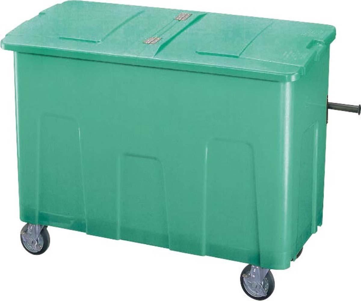 (キャッシュレス5%還元)山崎産業 コンドル リサイクルカート アウトバー 0.7 グリーン YD-142L-PC (代引き不可)
