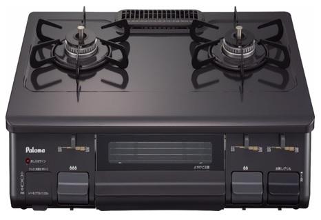 (送料無料)パロマ IC-N86KB-L 都市ガス用 ガステーブルコンロ 片面焼グリル 水なしタイプ 左強力火