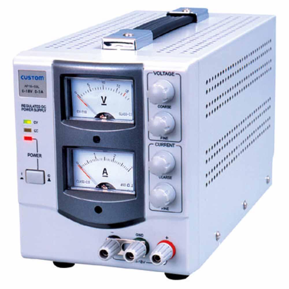 (キャッシュレス5%還元)カスタム AP-1803 直流安定化電源