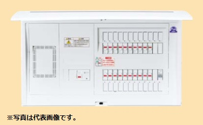 (キャッシュレス5%還元)パナソニック BQE36163R 住宅分電盤 かみなりあんしんばん リミッタースペース付 16+3 60A