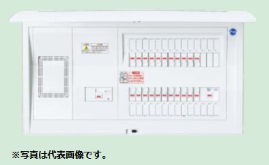 (キャッシュレス5%還元)パナソニック BQE36343G 住宅分電盤 家庭用燃料電池システム ガス発電・給湯暖冷房システム対応 リミッタースペース付 34+3 60A