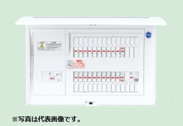 (キャッシュレス5%還元)パナソニック BQE86343C3 住宅分電盤 太陽光発電システム・エコキュート・電気温水器・IH対応 リミッタースペースなし 34+3 60A