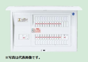 (キャッシュレス5%還元)パナソニック BQE87183G 住宅分電盤 家庭用燃料電池システム ガス発電・給湯暖冷房システム対応 リミッタースペースなし 18+3 75A