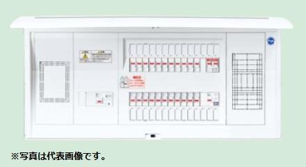 (キャッシュレス5%還元)パナソニック BQEF37221J 住宅分電盤 太陽光発電システム対応 単相3線計測電源用ブレーカ内蔵 フリースペース付 リミッタースペース付 22+1+1 75A