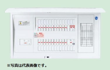 (キャッシュレス5%還元)パナソニック BQEF85301J 住宅分電盤 太陽光発電システム対応 フリースペース付 単相3線計測電源用ブレーカ内蔵 リミッタースペースなし 30+1+1 50A