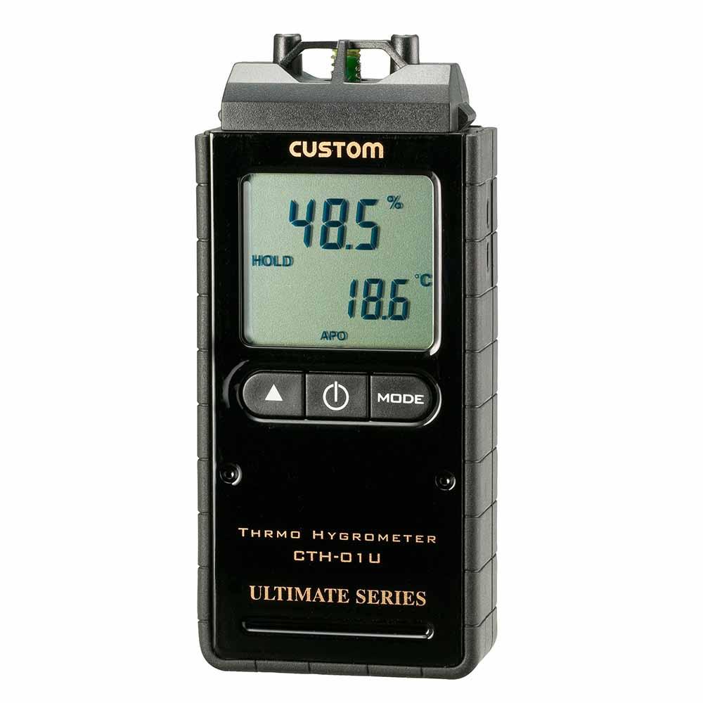 (キャッシュレス5%還元)カスタム CTH-01U デジタル温湿度計