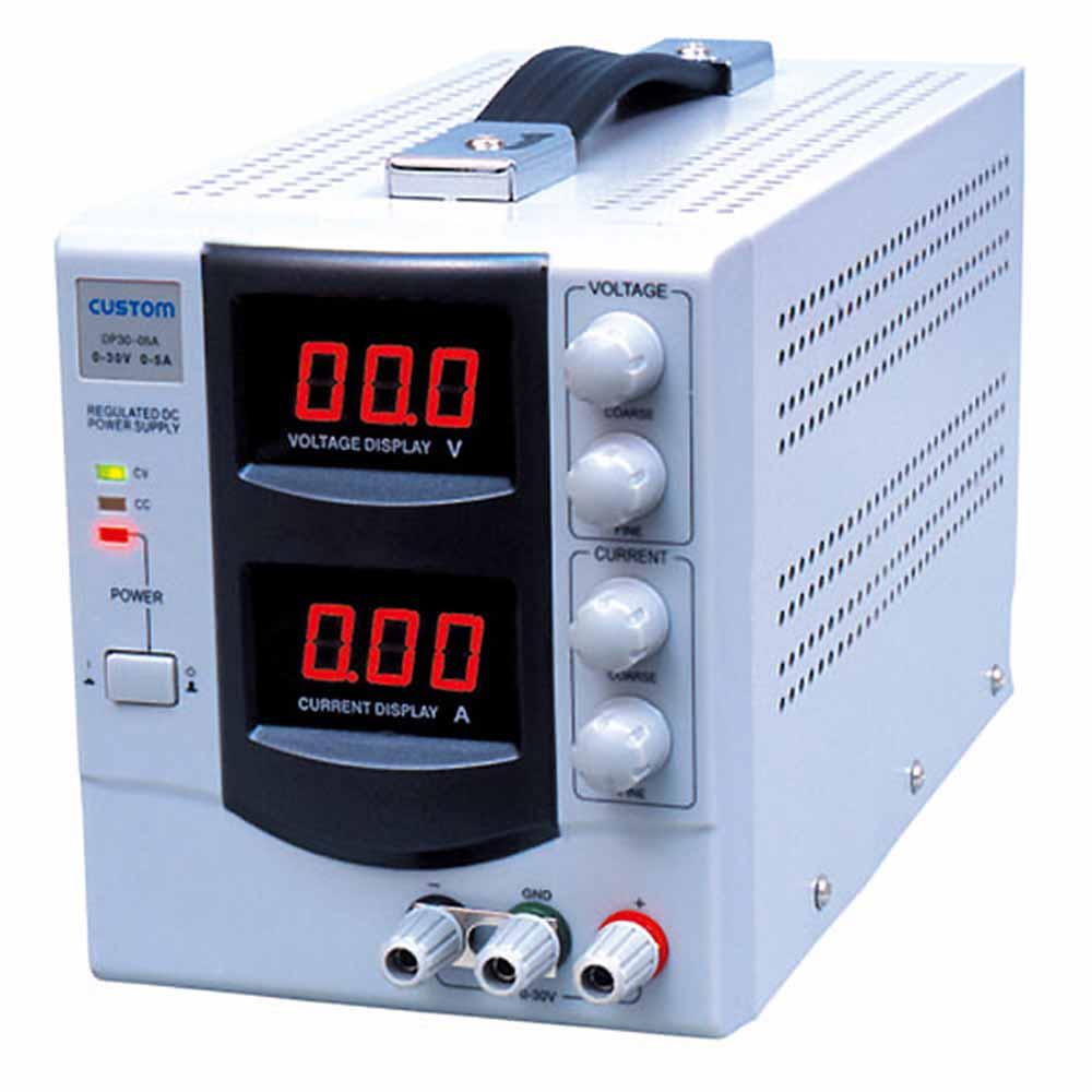 (キャッシュレス5%還元)カスタム DP-3003 直流安定化電源