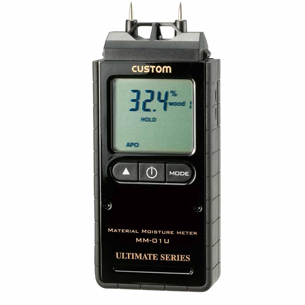(キャッシュレス5%還元)カスタム MM-01U デジタル水分計