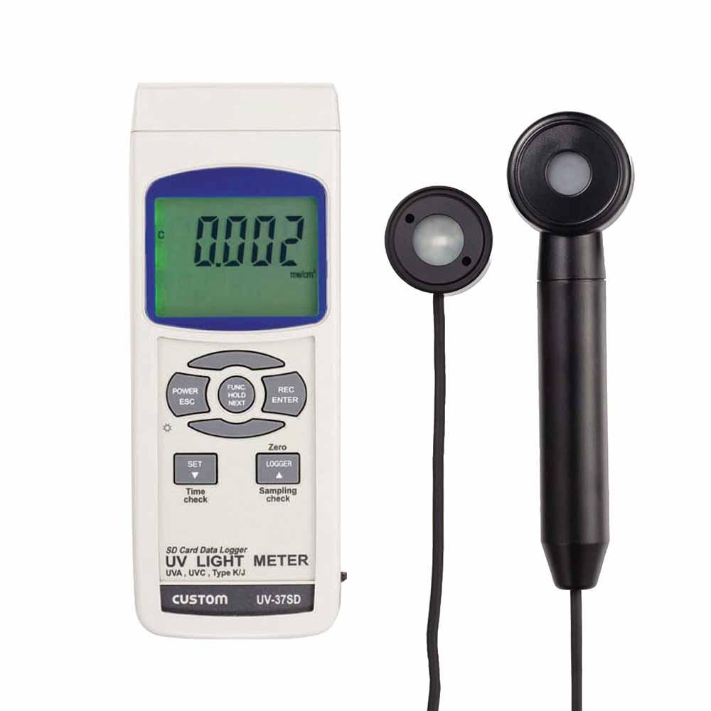 カスタム UV-37SD データロガー紫外線強度計