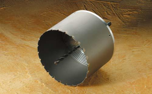 (キャッシュレス5%還元)ハウスビーエム ハウスBM ABF-120 塩ビ管用コアドリル 回転用 ABFタイプ フルセット