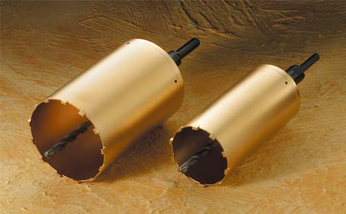 (キャッシュレス5%還元)ハウスビーエム ハウスBM AMC-160 スーパーハードコアドリル 回転用 AMCタイプ フルセット