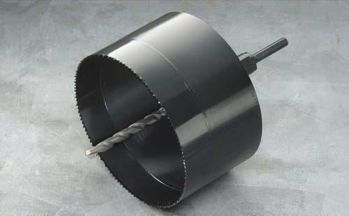 ハウスビーエム ハウスBM BAH-130 バイメタル塩ビ管用ホルソー 回転用 BAHタイプ セット品