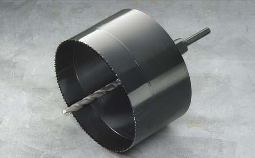 (キャッシュレス5%還元)ハウスビーエム ハウスBM BAH-270 バイメタル塩ビ管用ホルソー 回転用 BAHタイプ セット品