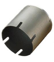 (キャッシュレス5%還元)ハウスビーエム ハウスBM RSW-120BK ラジワン換気コアドリル サイディングウッド ボディ