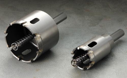 ハウスビーエム ハウスBM SHP-125 トリプル 超硬ロングホルソー 回転用 SHPタイプ セット品
