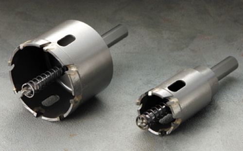 ハウスビーエム ハウスBM SHP-80 トリプル 超硬ロングホルソー 回転用 SHPタイプ セット品