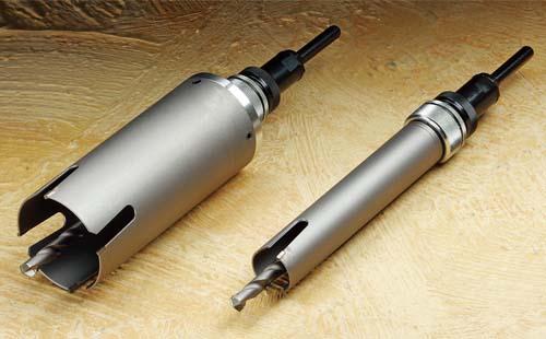 (キャッシュレス5%還元)ハウスビーエム ハウスBM SWC-45 サイディング・ウッドコアドリル 回転用 SWCタイプ フルセット