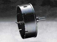 ハウスビーエム ハウスBM VU-100S 排水マス用ホルソー 回転用 VUタイプ セット品 シールパッキン使用サイズ