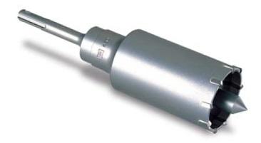 (キャッシュレス5%還元)ミヤナガ 600W75 ハンマー用コアビット600W (セット) 75mm